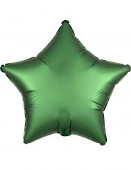 Vihreä tähti- ilmapallo 43 cm