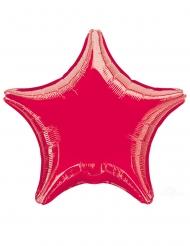 Punainen tähti-ilmapallo 43 cm