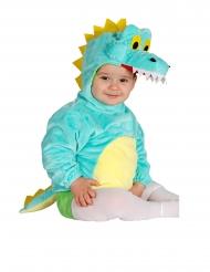 Krokotiilitunika hupulla vauvalle
