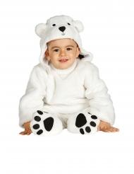 Jääkarhun naamiaisasu vauvalle