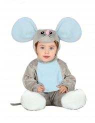 Suurikorvaisen hiiren naamiaisasu vauvalle