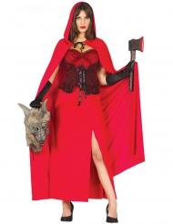 Suden metsästäjän naamiaisasu halloweeniksi naiselle