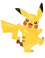 Alumiininen Pikachu™- ilmapallo 132 x 144 cm