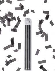 Musta konfettitykki 27 cm