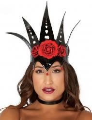Kuningattaren musta ruusukruunu naiselle