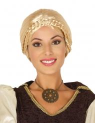 Blondi viikinki-peruukki naiselle