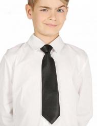Musta kravatti lapselle 30 cm