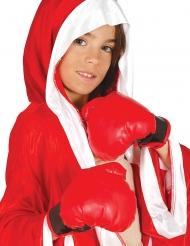 Punaiset nyrkkeilyhanskat lapselle