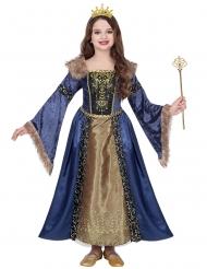 Keskiaikaisen kuningattaren talviasu tytölle