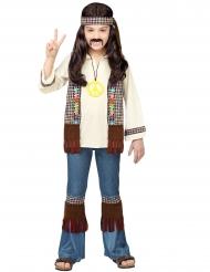 Ruskea peace-hippi asu lapselle
