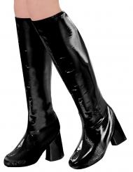 60-luvun mustat kengänpäälliset