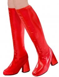 60-luvun punaiset kengänpäälliset