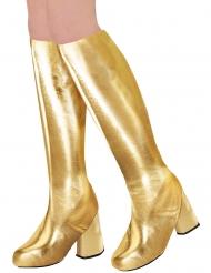 Kullanväriset 60-luvun kengänpäälliset