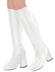 60-luvun valkoiset kengänpäälliset