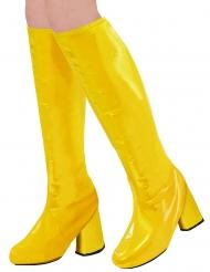 Keltaiset retrot kengänpäälliset