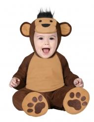 Ruskea apina-haalari vauvalle
