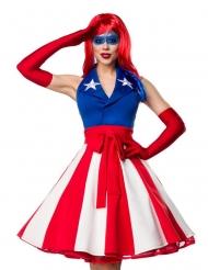 Seksikkään Miss Amerikan naamiaisasu naiselle