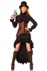 Steampunk- taistelijan naamiaisasu naiselle