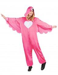 Flamingon naamiaisasu naiselle