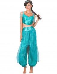 Arabialaisen prinsessan sininen asu naiselle