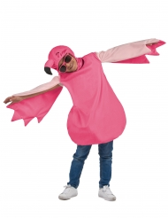 Flamingon naamiaisasu tytölle