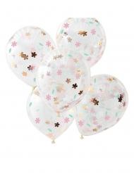 Ilmapallot kukkakonfetti 30 cm 5 kpl