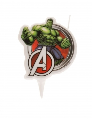 Hulk Avengers™-synttärikynttilä 7,5 cm