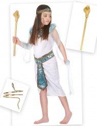 Egyptiläinen naamiaisasupaketti tytölle