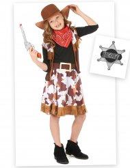 Cowgirl-naamiaisasu tytölle