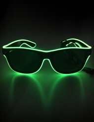 LED neon-aurinkolasit aikuiselle