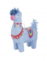 Pieni sininen laama-piñata 16 cm