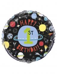 Alumiininen avaruuspallo 45 cm