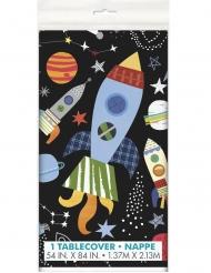 Muovinen avaruuspöytäliina 137 x 213 cm