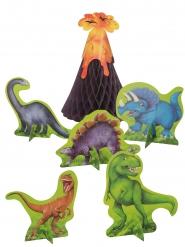 6 Dinosaurus -pöytäkoristetta
