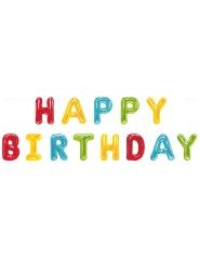 Happy Birthday- ilmapalloköynnös 2,74 m