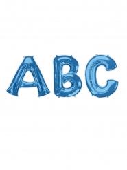Sininen kirjainilmapallo 81 cm