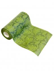 Trooppinen vihreä kaitaliina 15 cm x 5 m