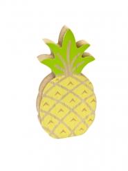 Puinen ananaskoriste 12 cm
