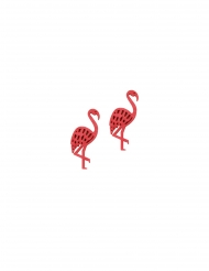 Flamingokonfetit 4 cm 10 kpl