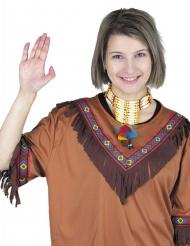 Intiaanin höyhenkaulakoru aikuiselle