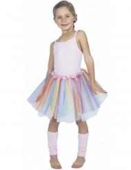 Balleriinan monivärinen hame lapselle