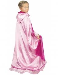 Pinkki prinsessan luksusviitta lapselle