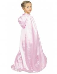 Vaaleanpunainen prinsessan viitta lapselle