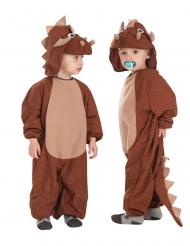 Triceratops-naamiaisasu lapselle