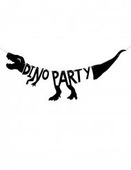 Dino party-musta köynnös 90 x 20 cm