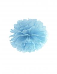 Ripustettava sininen pompon 35 cm