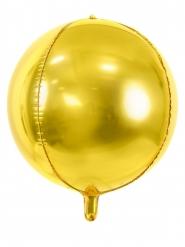 Kullanvärinen alumiini-ilmapallo 40 cm
