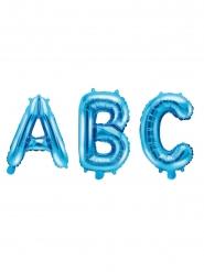 Sininen alumiininen ilmapallo 35 cm