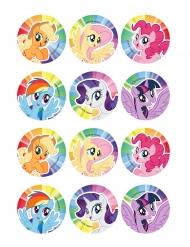 My Little Pony™-kakkukuvat 6 cm 12 kpl