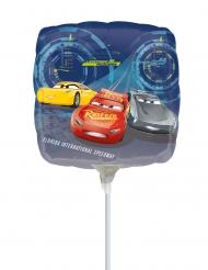 Neliönmuotoinen Autot 3™- ilmapallo 23 x 23 cm